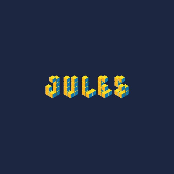 3D gold logo with the title 'Jules Ventures'