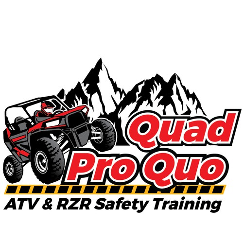 Action logo with the title 'logo for off road safety training'
