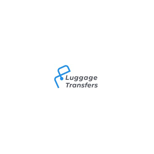 Enjoy logo with the title 'Luggage Transfers logo Concept'