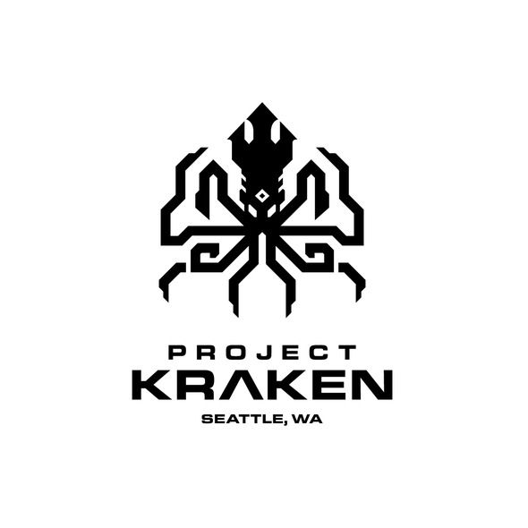 Masculine design with the title 'Project Kraken'
