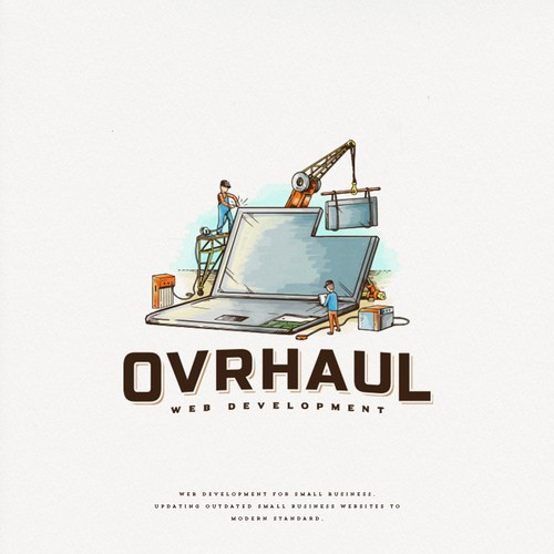 Web logo with the title 'Ovrhaul'