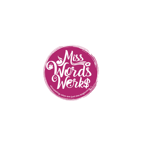 Smile brand with the title 'Miss Words Works'