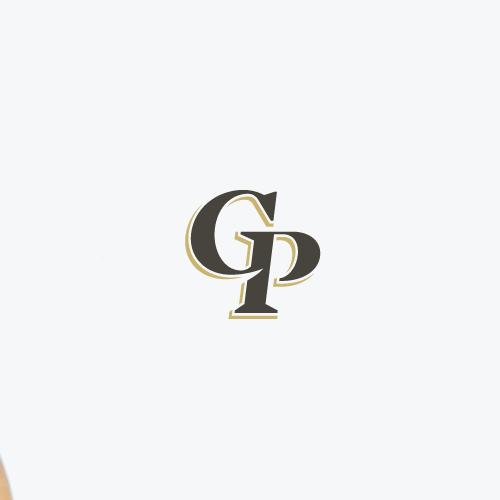 Gourmet design with the title 'Classic elegant monogram'