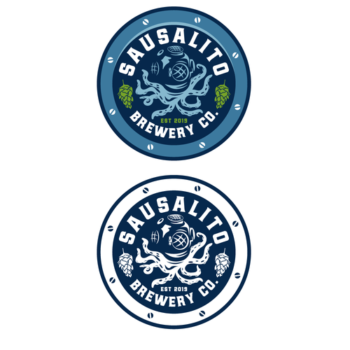 Port logo with the title 'Sausalito Brewery Co.'