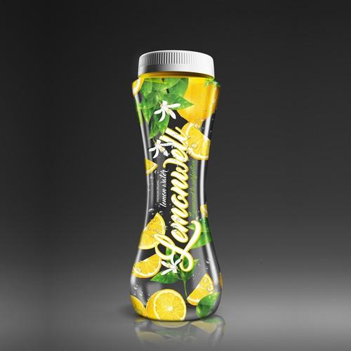 Lemonade design with the title 'LEMONWELL'