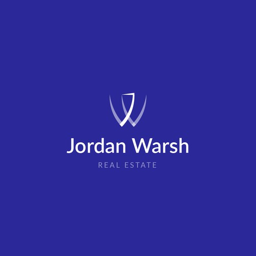 J logo with the title 'Logo Concept | Jordan Warsh'
