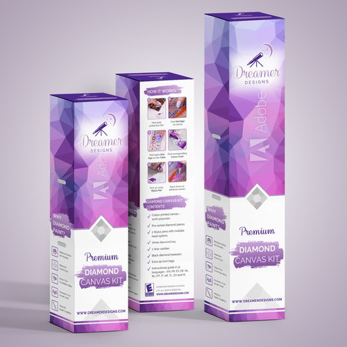 Shampoo design with the title 'package and Logo design'