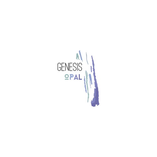 Birth design with the title 'Logo for Genesis opal'
