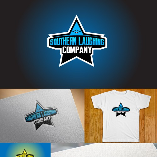Comedy logo with the title 'Concept for Comedy Logo'