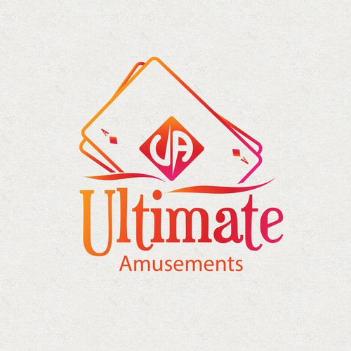 Casino brand with the title 'Ultimate Amusements'