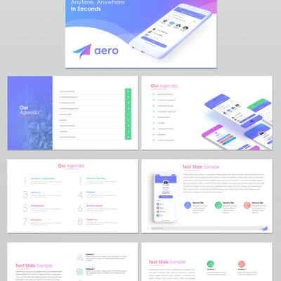 Powerpoint Deck Design
