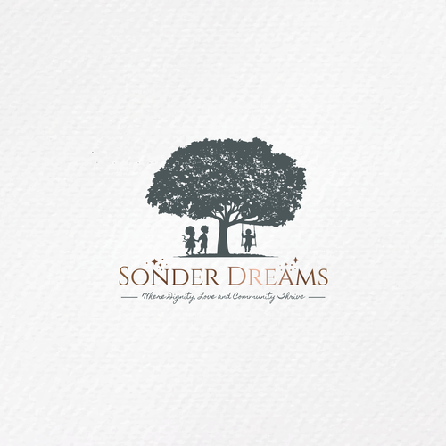 Cooperation logo with the title 'Logo | Sonder Dreams'
