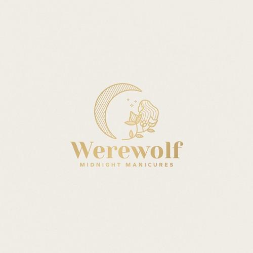 Midnight logo with the title 'Werewolf Midnight Manicures'