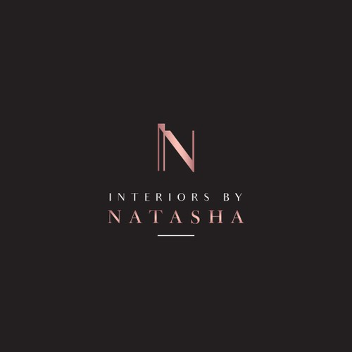 Home furnishing logo with the title 'Modern and elegant logo for interior design firm'