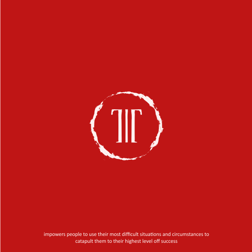 Sacred geometry logo with the title 'Tragedy Triump Scared Logo'