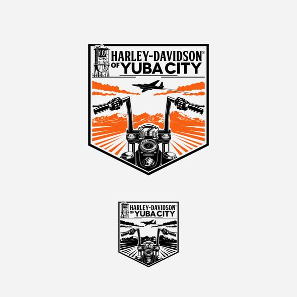 Dealership design with the title 'HD dealer logo'