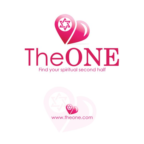 Israel and Israeli logo with the title 'The One'