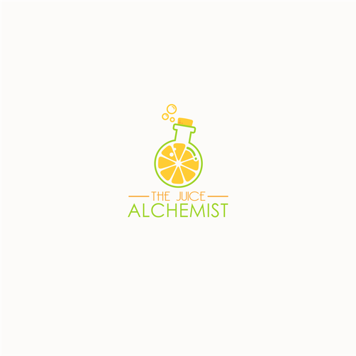 Drink brand with the title 'juice alchemist'