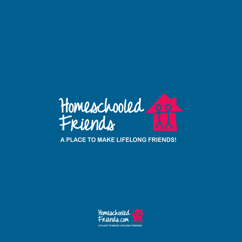 Friendship design with the title 'Logo for A Social Networking for Homschooled People'