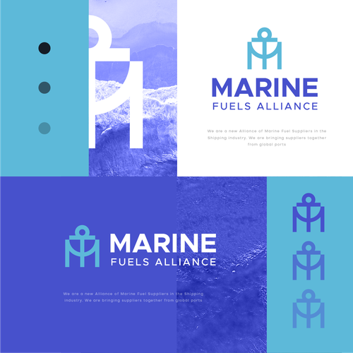M logo with the title 'Marine Fuel Allience'