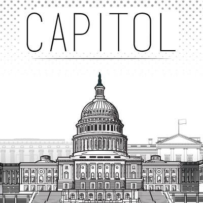 Illustration of Washington DC Landmarks