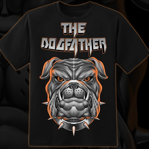 Dog t-shirt with the title 'The Dogfather'