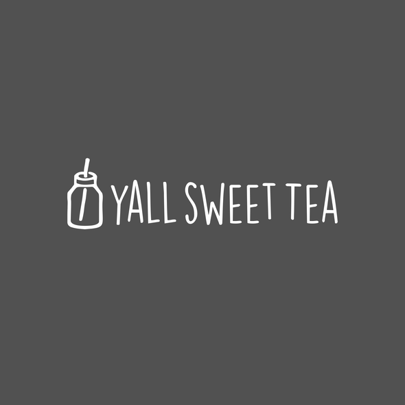 Tea design with the title 'Yall Sweet Tea'
