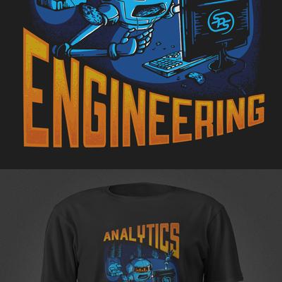 T-shirt design for SPS Commerce.