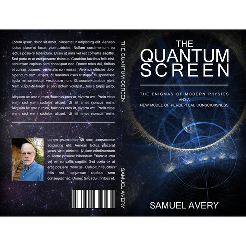 Quantum design with the title 'Book Design for a Quantum Theorist'