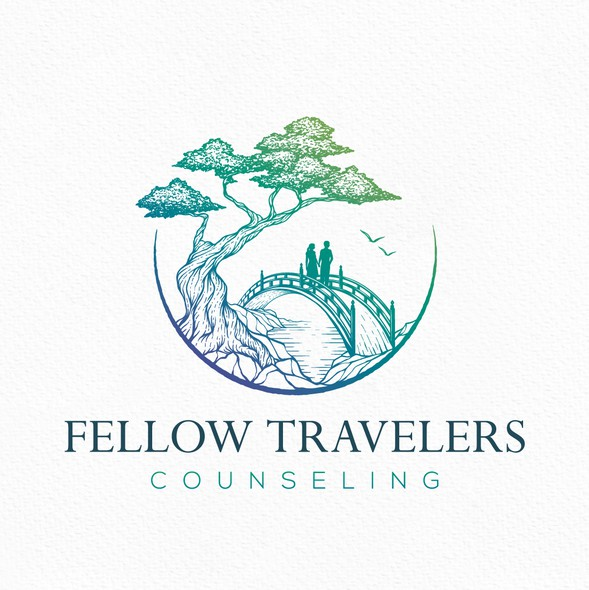 Bonsai design with the title 'Fellow Travelers'