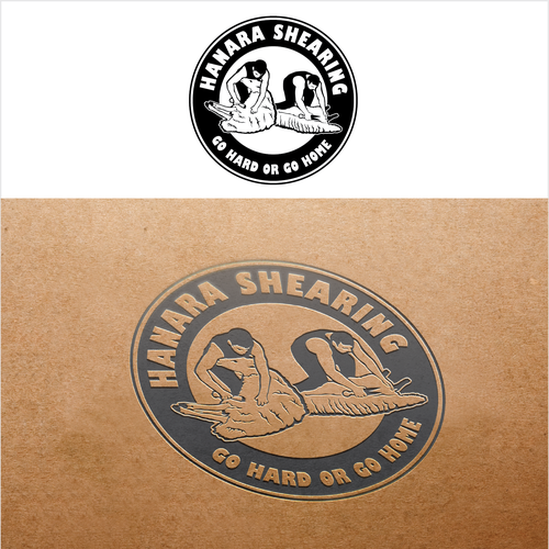 Sheep brand with the title 'Hanara Shearing'