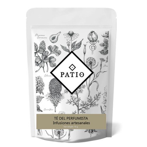 Herbal design with the title 'Packaging design'