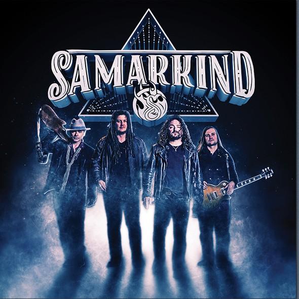 Vinyl artwork with the title 'Samarkind Album Cover'