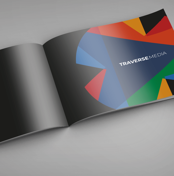 Kaleidoscope design with the title 'Television Production Company'