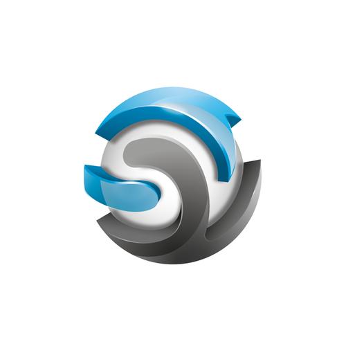 Sphere design with the title 'SmashVid logo design'