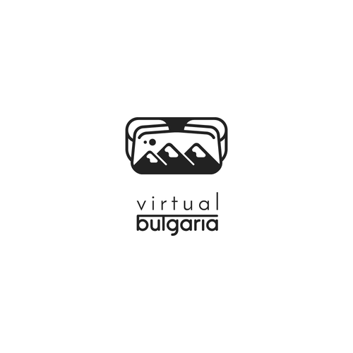 Goggle logo with the title 'Logo Submission - Virtual Bulgaria'