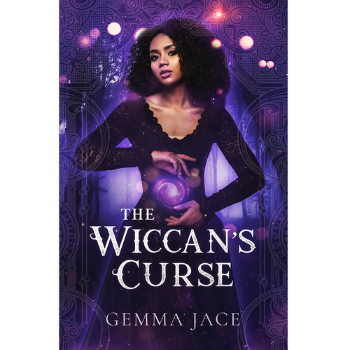 Witch design with the title 'Young Adult Witch Fantasy Novel'