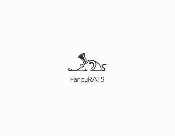 Fancy design with the title 'Fancy Rats'
