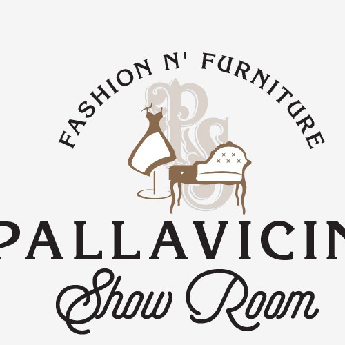 Showroom design with the title 'Fashion and furniture show room'