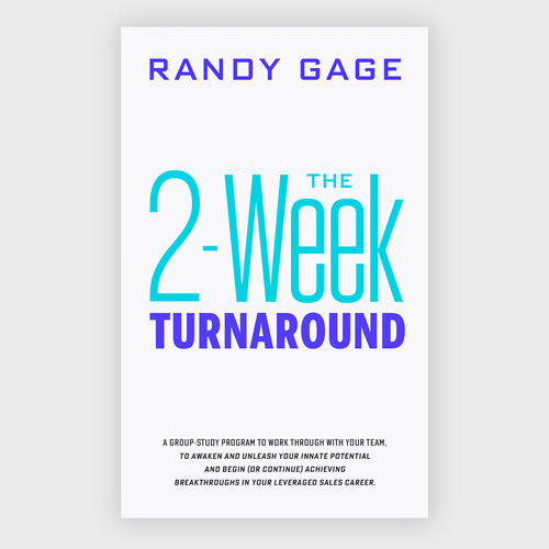 Bestseller book cover with the title 'Ebook cover design - The 2-Week Turnaround '