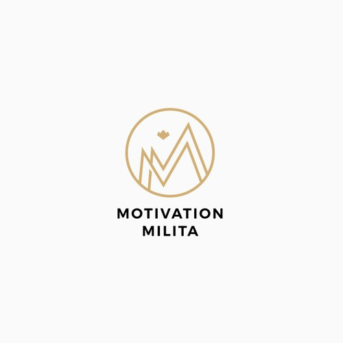 Outline design with the title 'MM lettermark monogram logo '