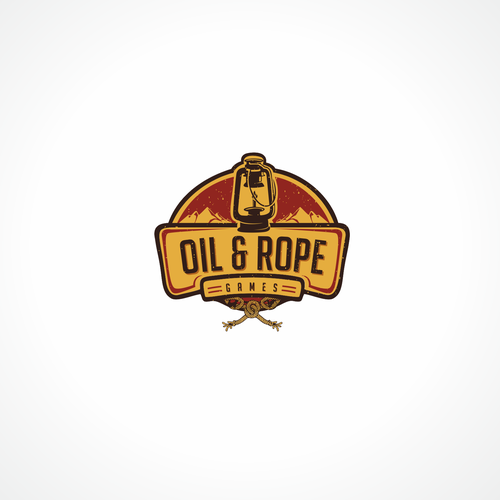 Rope logo with the title 'captivating logo for gaming company'