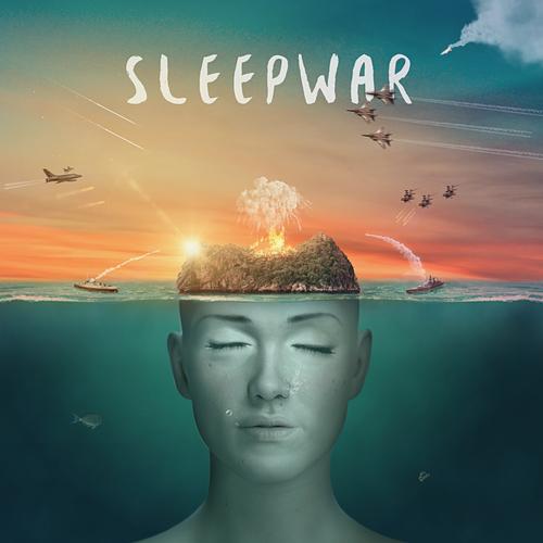 Island artwork with the title 'SLEEPWAR - Album Art'