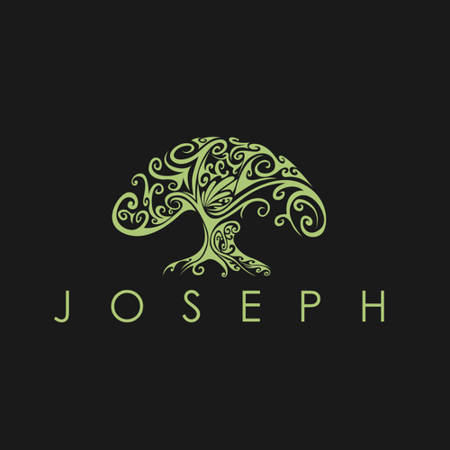 Tree of life design with the title 'JOSEPH'