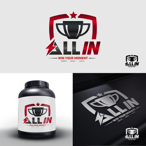 Trophy logo with the title 'All in Supplement'