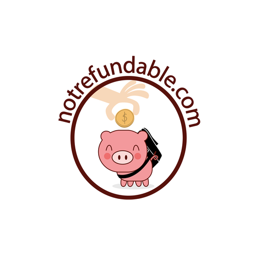 Pig brand with the title 'Logo for a new startup'