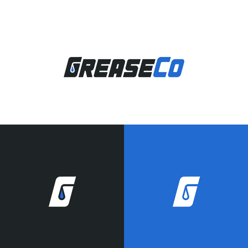 Powerful logo with the title 'Logo for a global Grease Company'