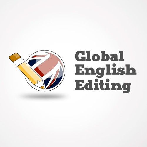 English logo with the title 'Create the next logo for Global English Editing'