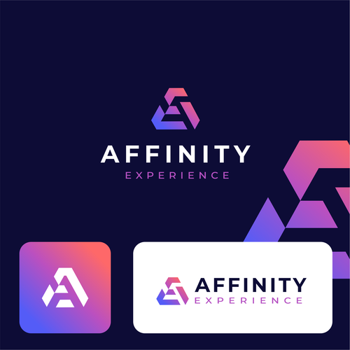 Triangle logo with the title 'Affinity Experience'