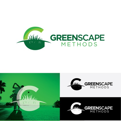 Golf brand with the title 'Greenscape '